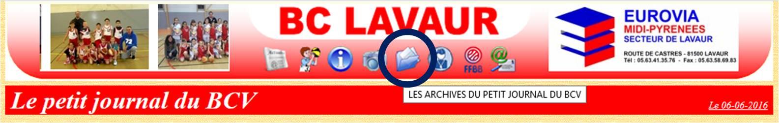 Archives du BC LAVAUR