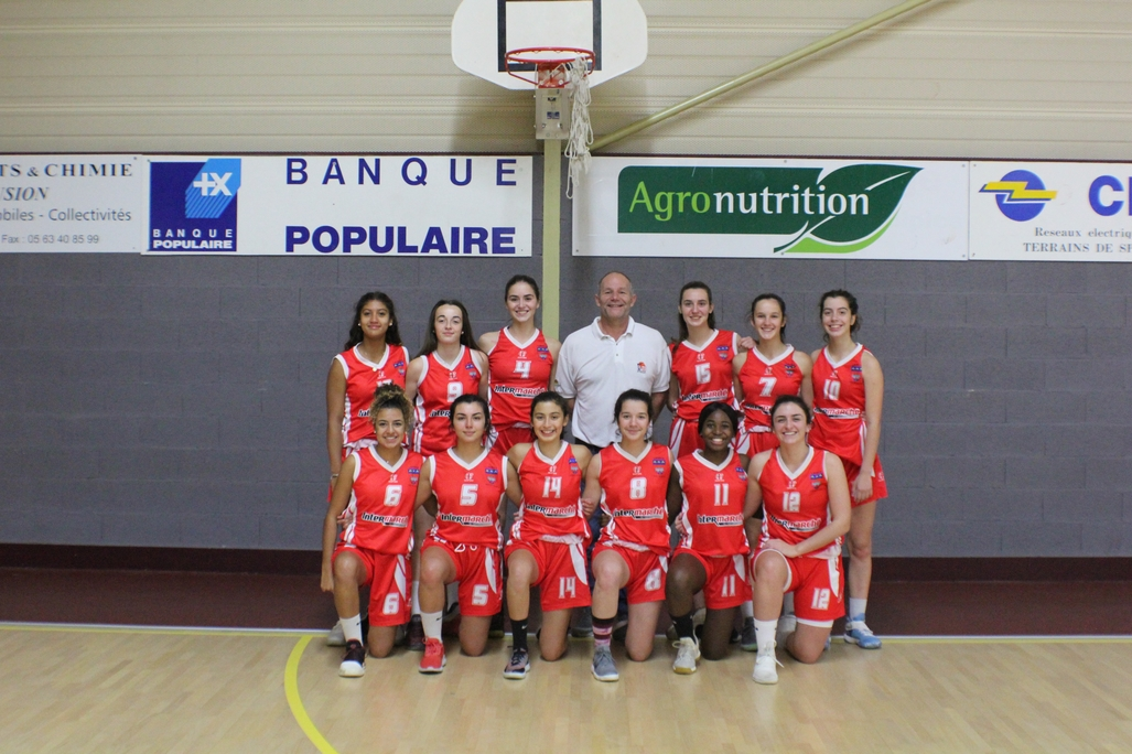 L'EQUIPE U18F 2018-2019