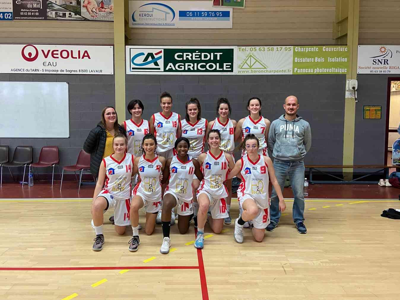 L'EQUIPE U18F 2019-2020