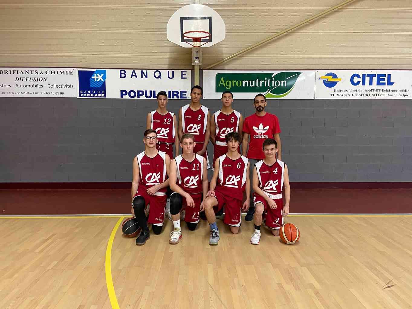 L'EQUIPE U20M2 2019-2020